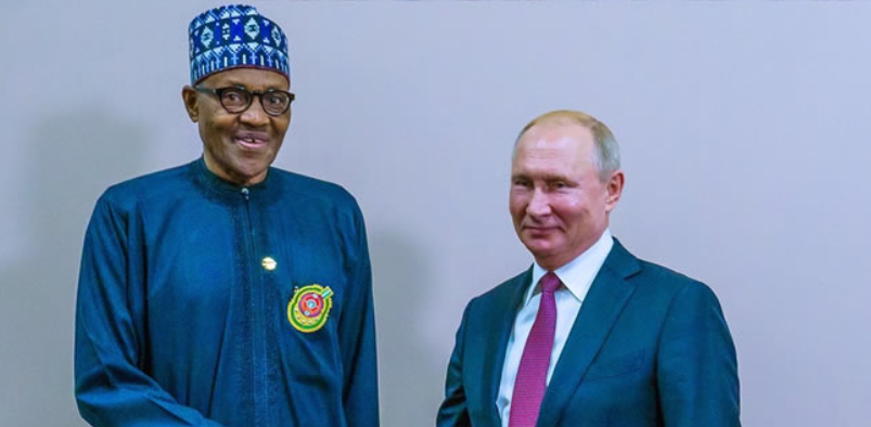 buhari and putin